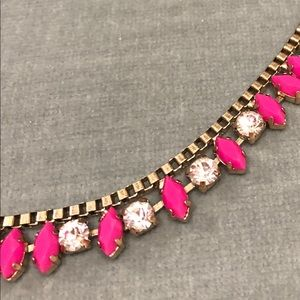 J. Crew Pink Necklace